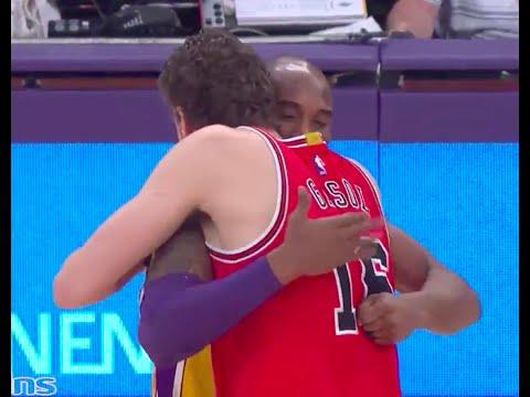 Kobe Bryant to Pau Gasol
