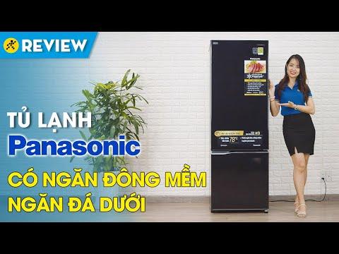 Tủ lạnh Panasonic Inverter 322 lít: ngăn đông mềm, tiết kiệm điện (NR-BC360QKVN) • Điện máy XANH