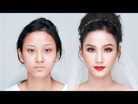 Sexy Bridal Makeup Look - Trang Điểm Cô Dâu Quyến Rũ Cho Tiệc Tối