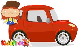 car doctor kid s car cartoons fast sports car doc mcwheelie s garage мультфильм на английском