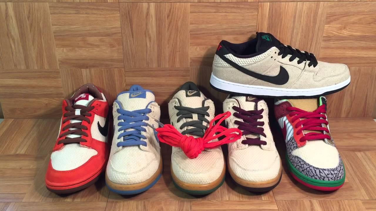 the latest da703 3fbb3 ShoeZeum Happy 420 And The Evolution Of The Hemp Nike Dunk SB