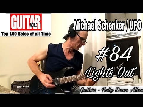 #84 Michael Schenker/UFO - Lights Out solo cover by Kelly Dean Allen