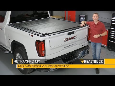 How to Install RetraxPRO MX Tonneau Cover on a 2019 GMC Chevy 1500 Crew Cab