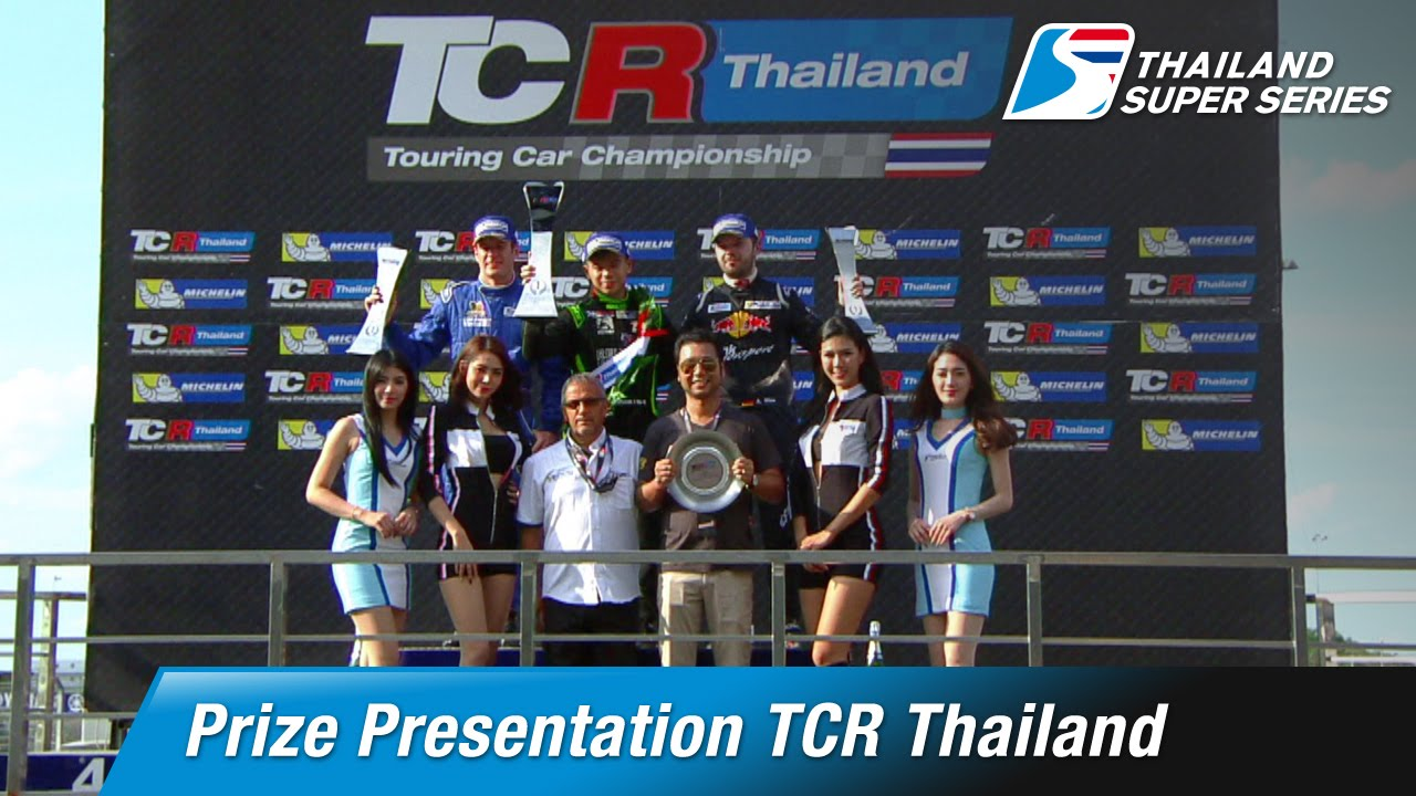 Prize Presentation TCR Thailand | Chang International Circuit (Sat-9-July)