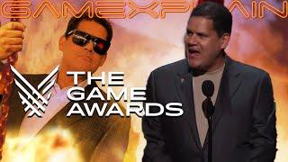 Reggie's Speech at the Game Awards 2019 (Indie Award)