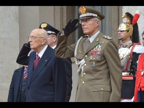 Presidente della Repubblica Dimissioni : Onori a Giorgio Napolitano