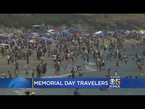 MEMORIAL DAY TRAVEL: Bay Area residents flock to Santa Cruz to take in the Memorial Day sunshine