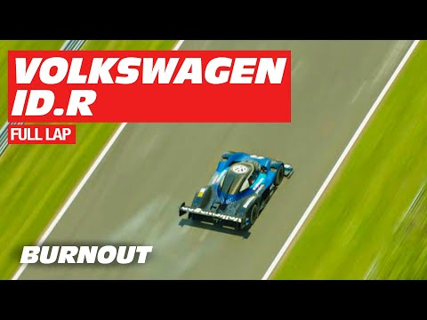 Volkswagen ID.R | FULL Record Lap | Nordschleife | BURNOUT