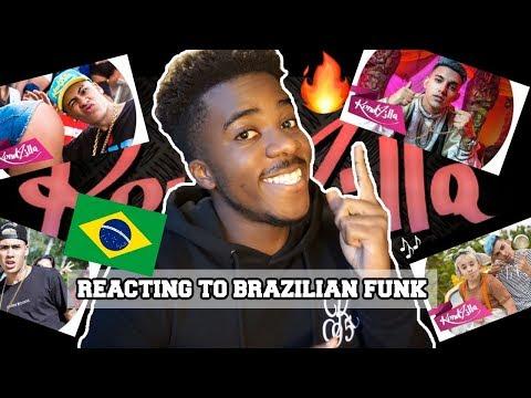REACTING TO BRAZILIAN FUNK SONGS