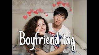 BOYFRIEND TAG how I met my boyfriend   국제커플 Q&A 우리 어떻게 사귀었을까요?