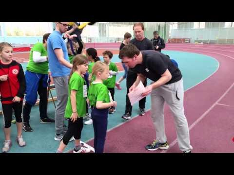 Kinderleichtathletik-Wettkampf Frankfurt 2016