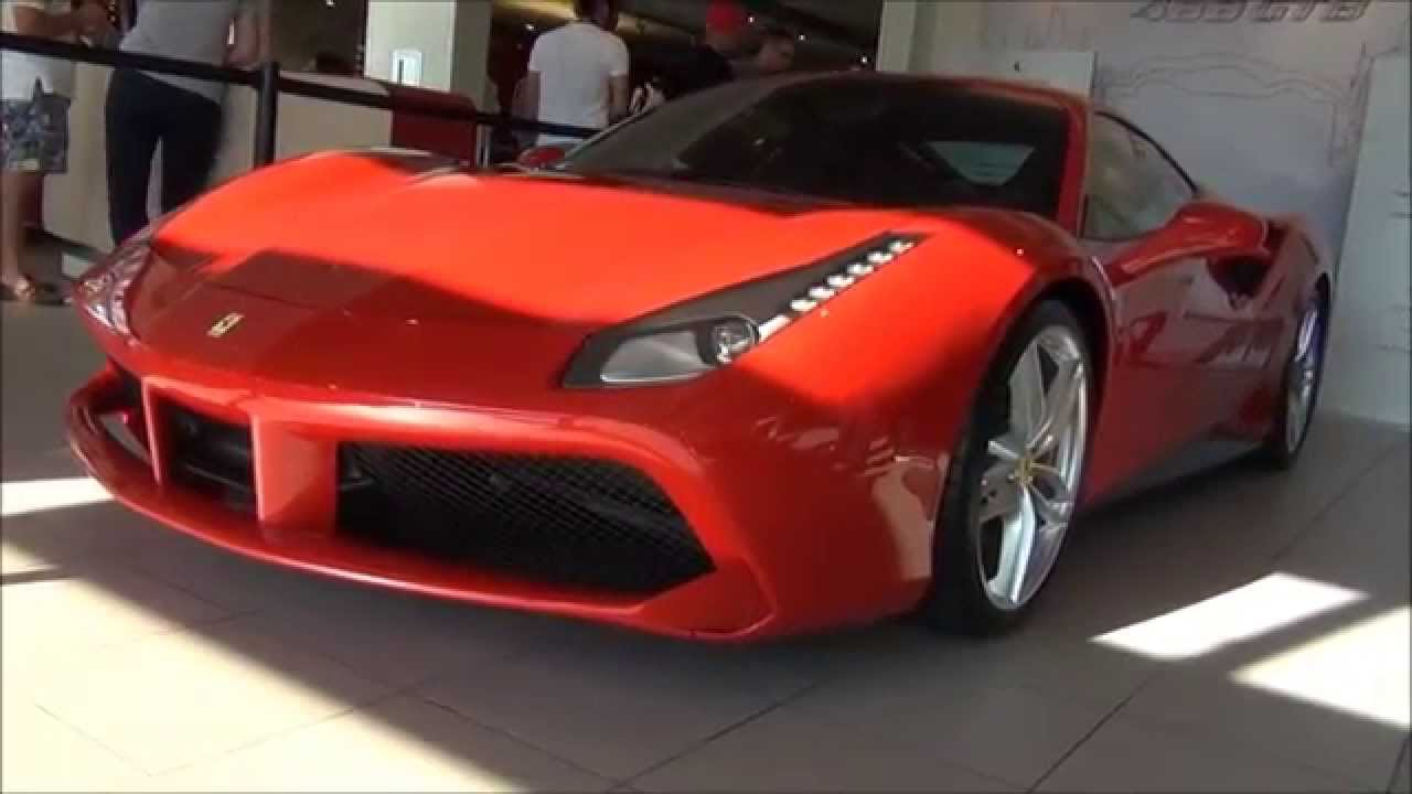 All New 2016 Ferrari 488 GTB // Ferrari Of Washington DC - YouTube