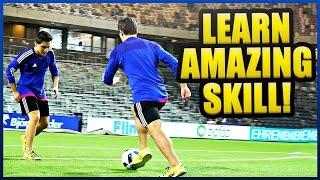 "Learn The AMAZING ""SkillTwins Hocus Pocus"" + Challenges! ★ Ronaldo/Neymar Skills"