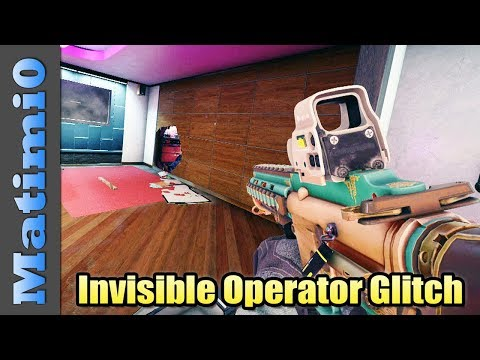 Invisible Operator - Rainbow Six Siege