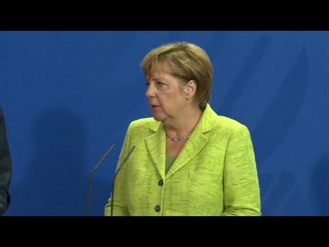 """Merkel se opone a una """"solución militar"""" en Corea del Norte"""