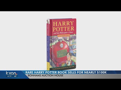 Rich Lauber - Rare First Edition Harry Potter Book Sells For Over $90,000 In London!