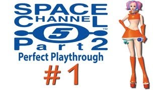 Space Channel 5 part 2 perfect playthrough (all secrets) [1/8] Dreamcast collection HD