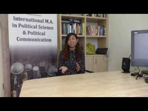 Study MA In Political Science & Political Communications At Tel Aviv University- Avalon Seigel