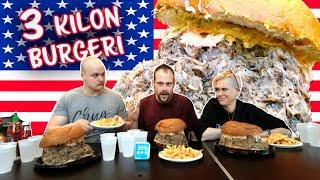 3 Kilon Hampurilaishaaste - feat. Dan ja Molly