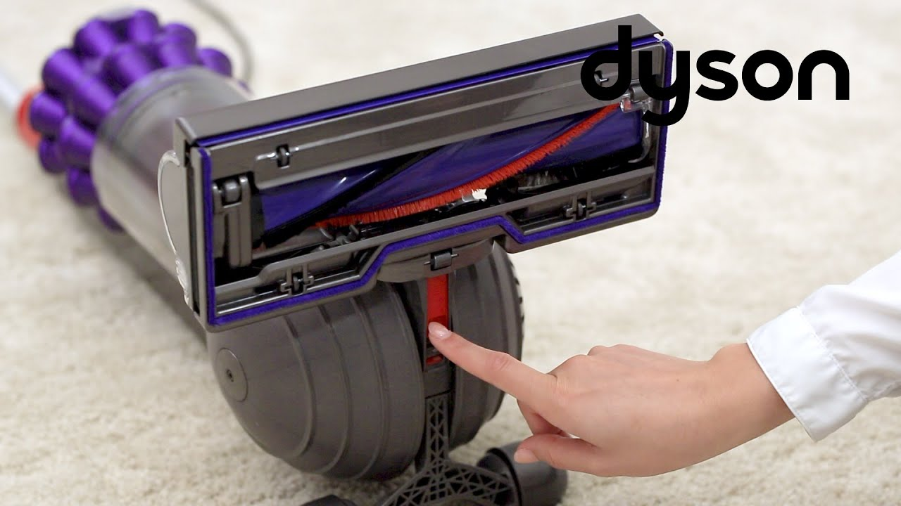 Dyson DC50 and UP15 upright vacuums - Replacing the cleaner head (US)
