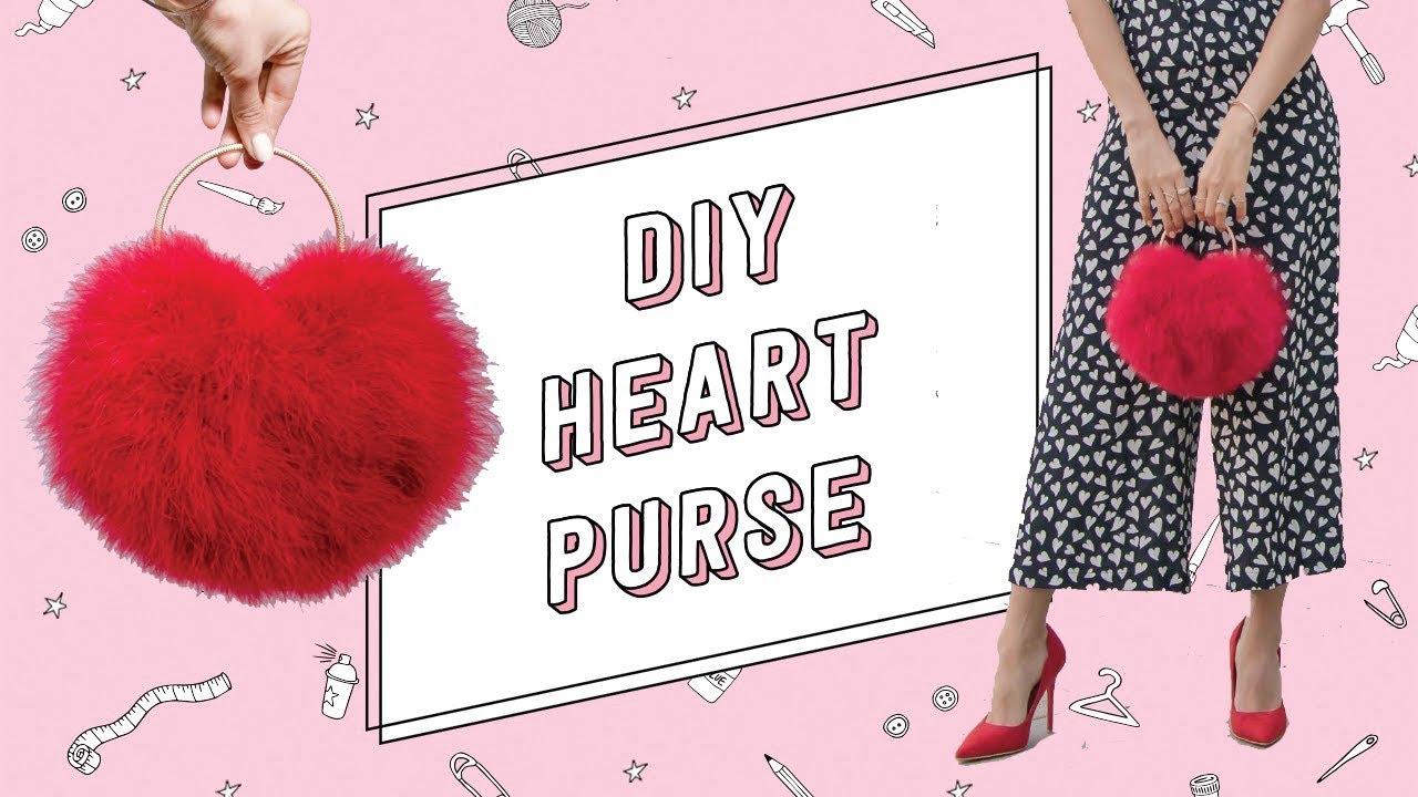 DIY high fashion red heart clutch - Les Petits Joueurs ...