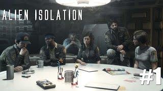 Alien Isolation: L'équipage peut être sacrifié #1
