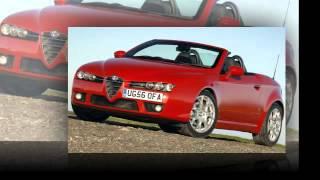 Обзор Alfa Romeo Spider Альфа Ромео Спайдер кабриолет