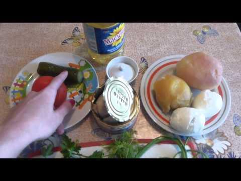 Салат из кальмаров маринованных рецепт с фото