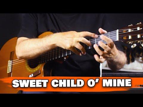 Sweet Child O' Mine   Guns N' Roses   Spanish Guitar   Fingerstyle Cover