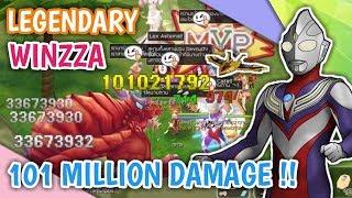 TERCYDUK !! LEGENDARY WINZZA DEAL 101M DAMAGE WITH HIS SHURA !! RAGNAROK MOBILE