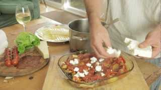A Delicious Vegetarian Lasagne With Roasted Vegetables And Feta Cheese.mov