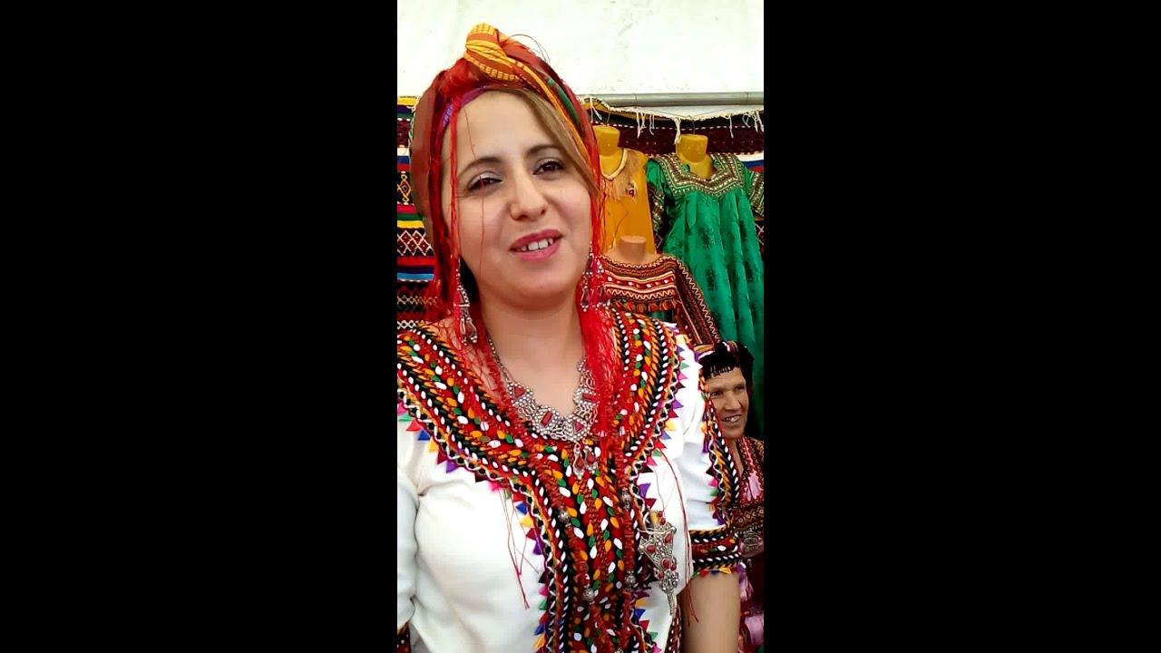 La robe Kabyle de IFLISSEN. - YouTube