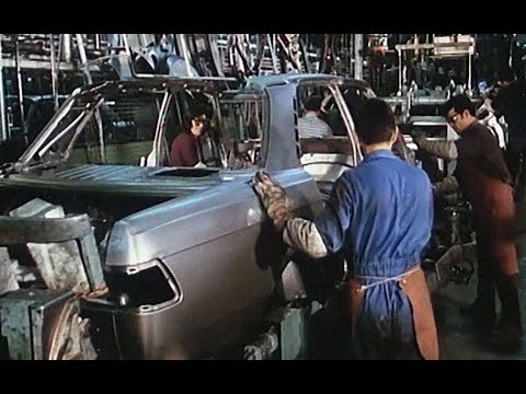 Mercedes S-class w116 production - plant in Sindelfingen 70th