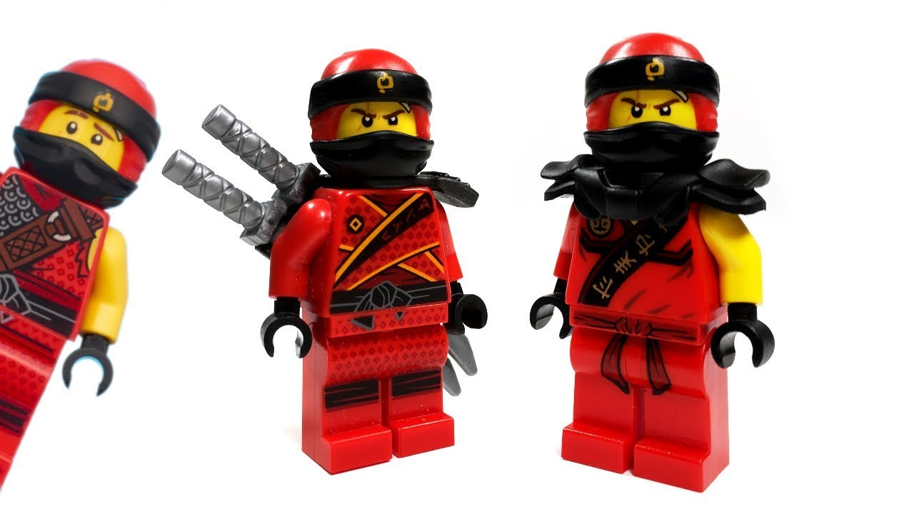 Lego Ninjago Custom Kai Minifigure From S9 Hunted Youtube