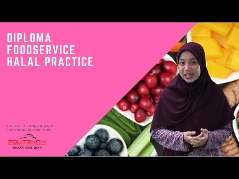 DIPLOMA FOODSERVICE HALAL PRACTICE