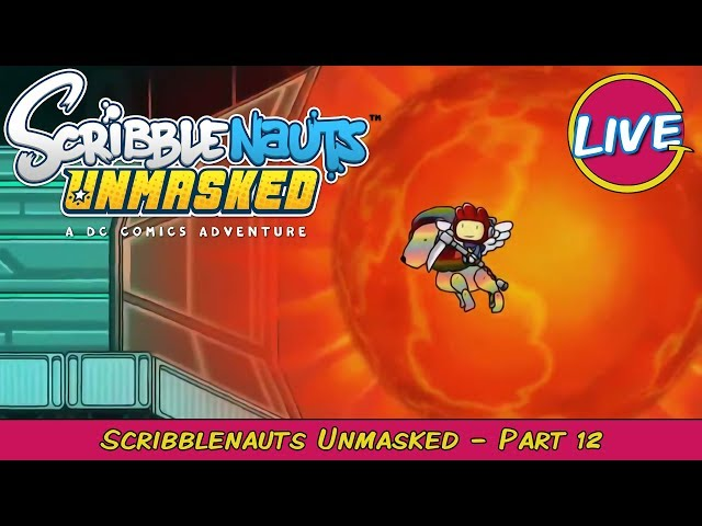Technicolor Flying Lion! - Scribblenauts Unmasked Pt. 12 - Grawlix Plays LIVE