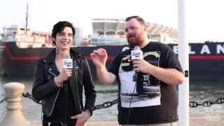 Andy Biersack APMAs pre-show exclusive interview