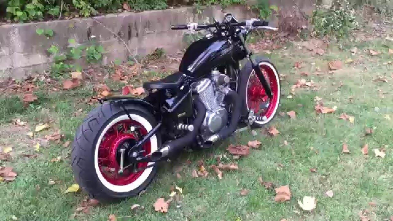 Bobber Review Video Honda Shadow 600 Bobber Youtube
