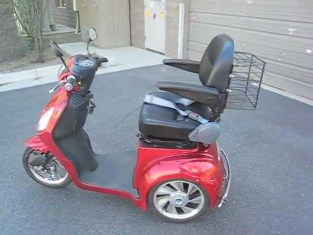 Electric Mobility Scooter - Electric Wheels - EW-36 - YouTubeYouTube