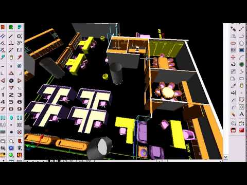 自動化 🍏 平面圖轉3D透視圖 +立面圖 (CAD 外掛技法)