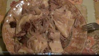 Как приготовить бешбармак из утки