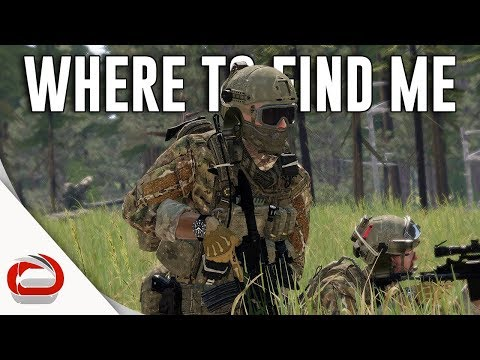 WHERE TO FIND ME - WAR IS HELL