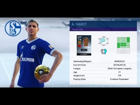 A  HARIT, Future Big Star, great choice from -other (europe) scouts! PES  2019 MyClub
