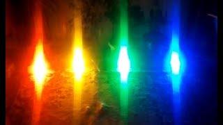 Простая светодинамическая установка (Цветомузыка) часть 2