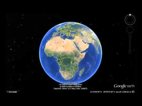 Nigeria Google Earth View