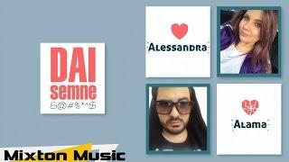 Alama &amp Alessandra - Dai semne ( Lyric Video )