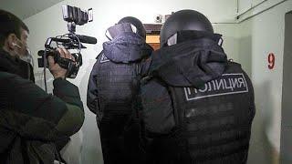 Незаконные обыски у сторонников Навального | Беспредел полиции и силовиков | Новости 27 января