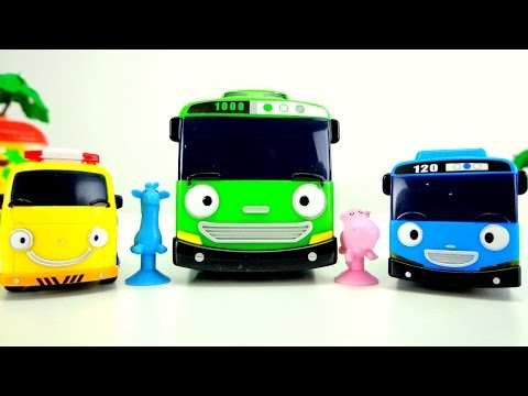 Toy Cars Videos. Helper Cars & Tayo Cars Toys