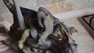 Sideshow DINOSAURIA Protoceratops VS Velociraptor