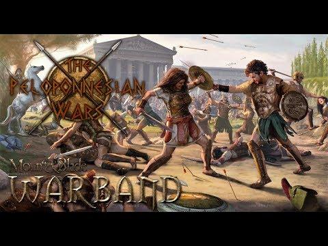 THE PELOPONNESIAN WARS - M&B WARBAND MODS - EL PUEBLO HELÉNICO ENFRENTADO POR LA LIBERTAD